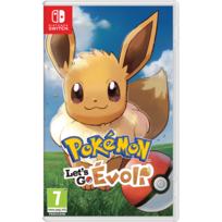 NINTENDO - Pokémon : Let's Go, Évoli - Jeu Switch