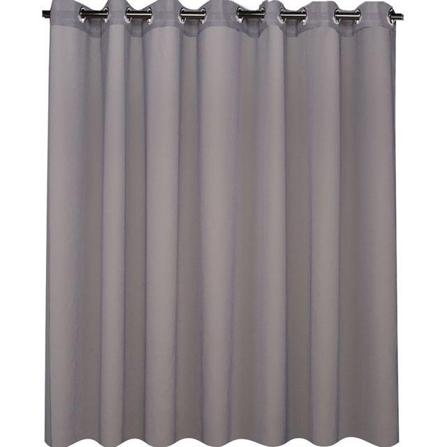 best interior voilage uni grande largeur gris dimensions 300x240 pas cher achat. Black Bedroom Furniture Sets. Home Design Ideas