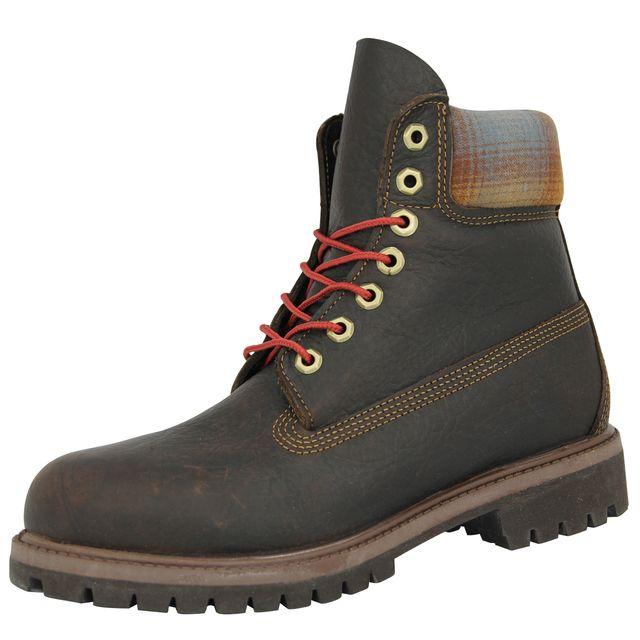 Timberland - 6 In Prem Bottines Homme Cuir Brun Marron