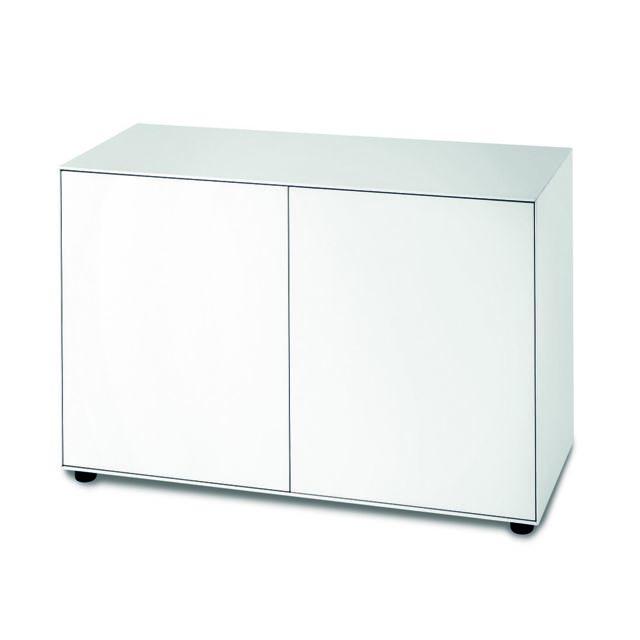 Piure Nex Pur Box avec porte - L - blanc - H 75 cm