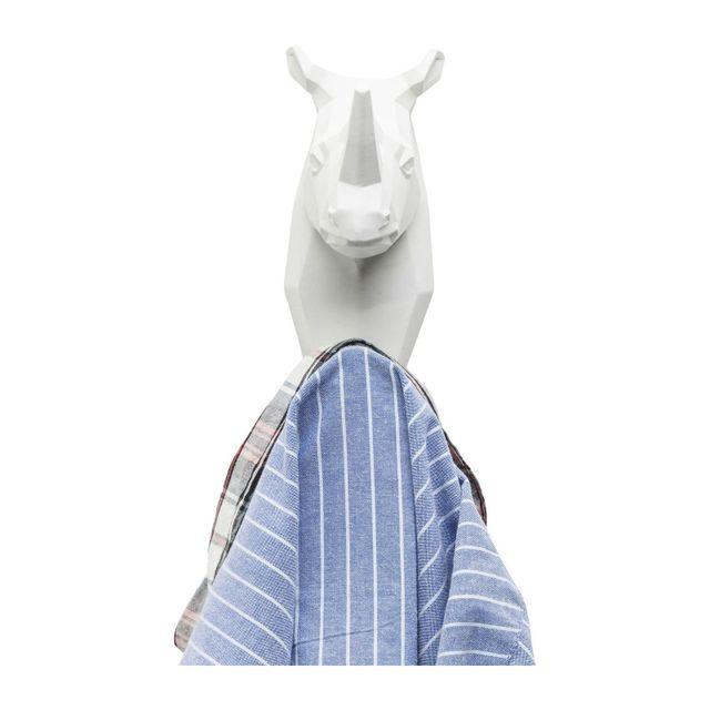 Karedesign Portemanteau Rhino blanc Kare Design