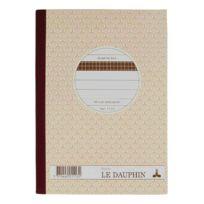 Le Dauphin - Cahier Manifold autocopiant 14,8 x 21 cm 50 pages triple exemplaires