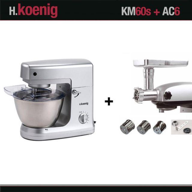 HKOENIG ROBOT PETRIN H. KOENIG KM60 + ACCESSOIRES OPTIONNELS AC6