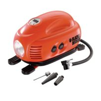 Black & Decker - Black and Decker - Compresseur Gonfleur 8,27 Bars/ 120 Psi - Asi200