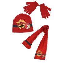 Angry Birds - Lot Bonnet + Echarpe + Gants
