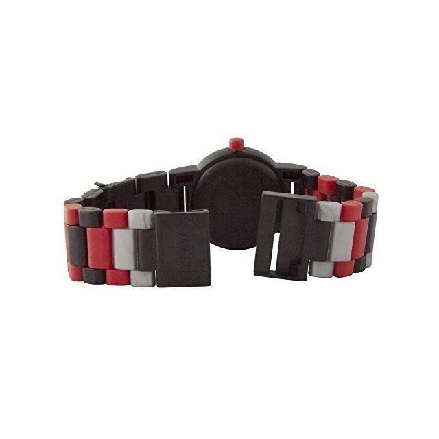 Lego Montre figurine Dark Vador de Star Wars 8021018 pour enfant à construire | noir/rouge | plastique | diamètre du cadran 2