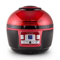 KLARSTEIN - VitAir Turbo friteuse à air chaud 1400W grill cuisson 9L - rouge/noir