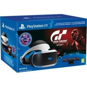 sony casque psvr jeu ps4 gran turismo sport pas cher achat vente casques de r alit. Black Bedroom Furniture Sets. Home Design Ideas