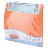 Bolin Bolon - 1154701017500 - Housse Pour Matelas À Langer Eponge 100 % Coton Antitranspirant - Orange