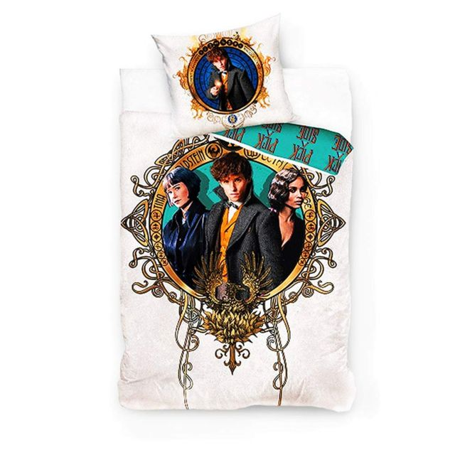 Bebe Gavroche Parure de lit Wizarding World 100% coton 140x200 cm
