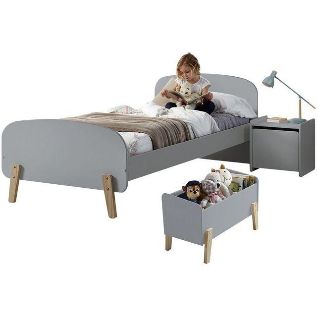 COMFORIUM - Ensemble chambre enfant design scandinave avec lit ...