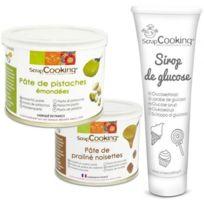 Scrapcooking - Pâte de pistache + pâte de noisette + sirop de glucose