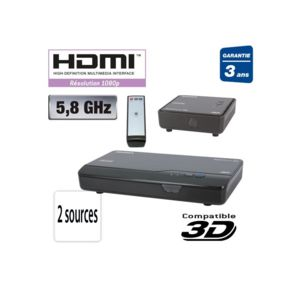 sedea transmetteur vid o audio hdmi sans fil pas cher. Black Bedroom Furniture Sets. Home Design Ideas