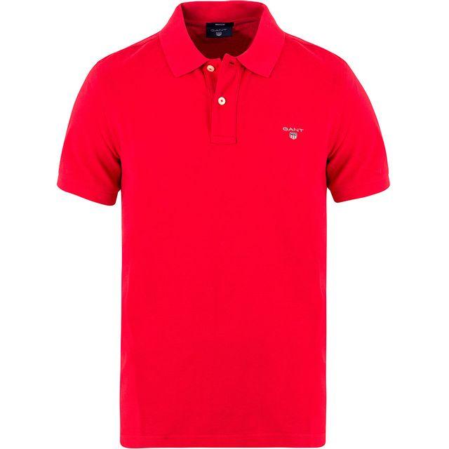 Gant - Polo rouge - pas cher Achat / Vente