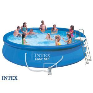 intex piscine autostable 4 57 x 0 91 m pas cher achat