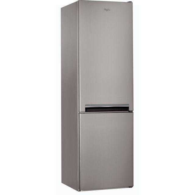 Whirlpool Réfrigérateur congélateur 2 portes - BLFV9101OX - Inox