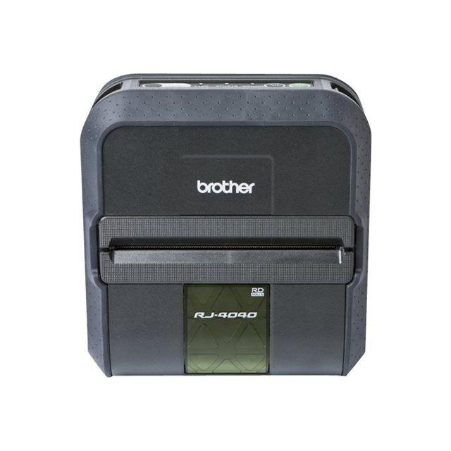 Brother Imprimante À Reçu Brougeher Rj-4040 noir, Usb / WLAN / Seriell