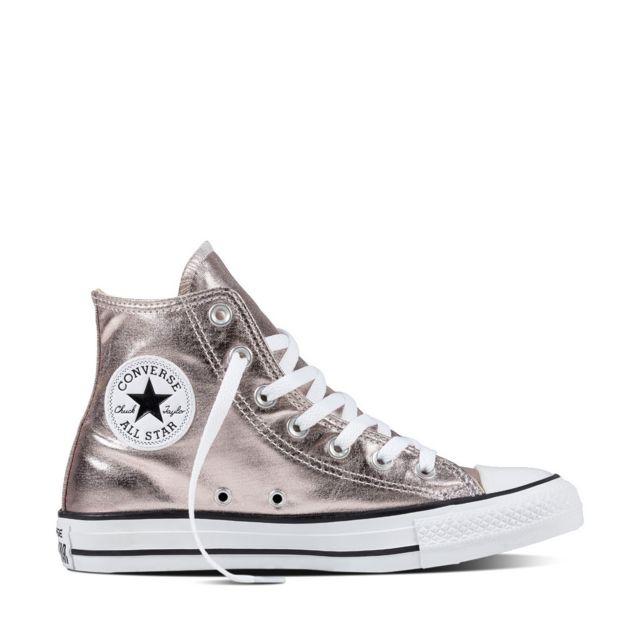 basket converse ct all star metallic canvas