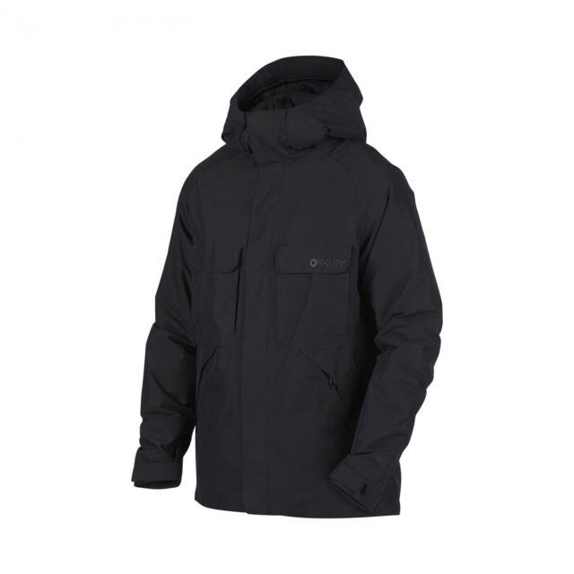 e5152d36b980be Oakley - Veste Lookout 2l Gore-tex Blackout - pas cher Achat   Vente Blouson  de ski - RueDuCommerce