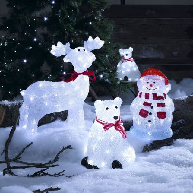 Silhouette renne de Noël