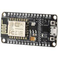 Wewoo - Carte et Boitier Arduino noir pour Nodemcu de développement WiFi LandaTianrui Ldtr-wg0130 Esp8266 Esp-12E série