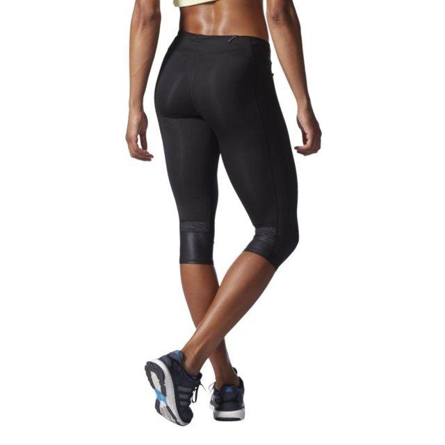 Adidas - Legging 3 4 supernova femme - pas cher Achat   Vente Leggings 0a74ab359d9