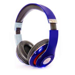 hobby tech casque audio bluetooth bleu tm 010 pas cher achat vente casque rueducommerce. Black Bedroom Furniture Sets. Home Design Ideas