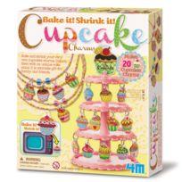 4M - Kidz Labs - Kit de fabrication Green Creativity : Charme Cupcakes