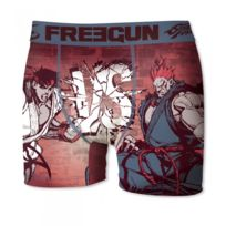 Freegun - Boxer Microfibre Street Fighter Rouge