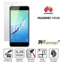 Tm Concept - Huawei Nova - Vitre de Protection en verre trempé Crystal