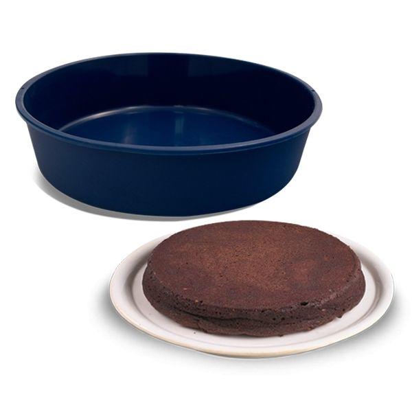 Totalcadeau Moule en silicone gâteau rond