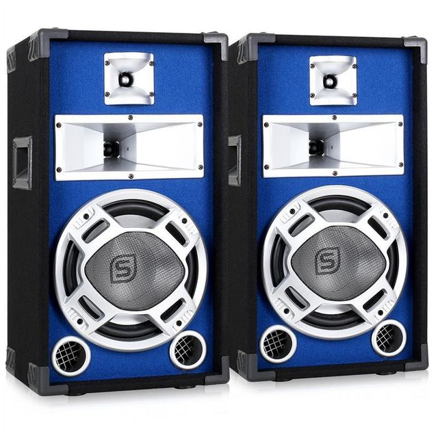 SKYTRONIC Pack Enceintes Sono DJ 10