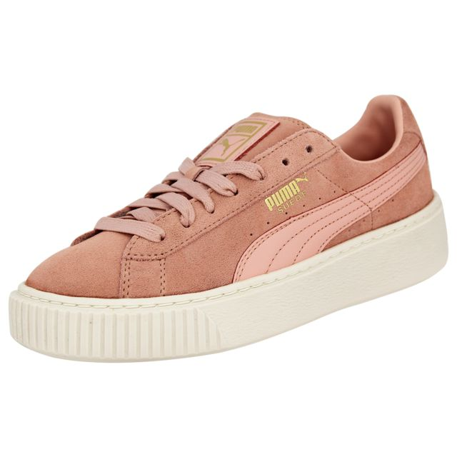 Puma Suede Platform Core Chaussures Mode Sneakers Femme