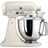 Kitchenaid - Robot Petrin 5KSM175PSELT Meringue + 4 Accessoires