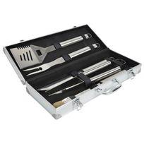 Kitchen Chef - mallette 5 ustensiles pour barbecue - bq001