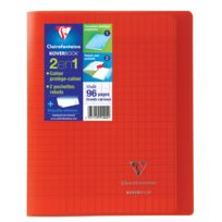 CLAIREFONTAINE - KOVERBOOK - Cahier 2-en-1 - 17 x 22 cm - 96 pages