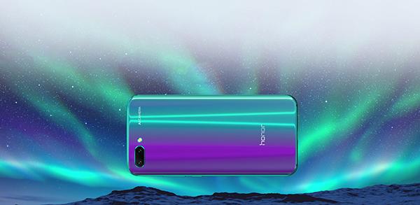 smartphone honor 10 design