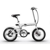 REVOE - Vélo Électrique Pliable Pour Adulte - Blanc - REVTRO27
