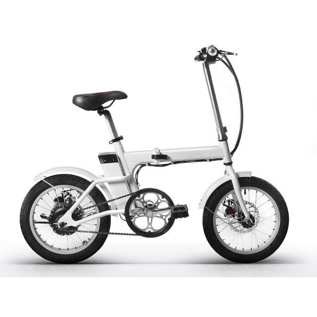 REVOE - Vélo Électrique Pliable Pour Adulte - Blanc - REVTRO27 16