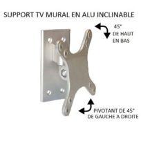 Antarion - Support Tv mural simple en alu