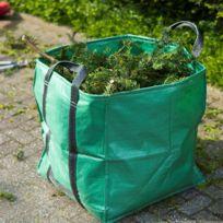 Sac A Dechets De Jardin Carre Vert 148 L