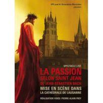 Seven Plus Editions - La Passion selon Saint Jean de Jean-Sébastien Bach mise en scène dans la Cathédrale de Lausanne