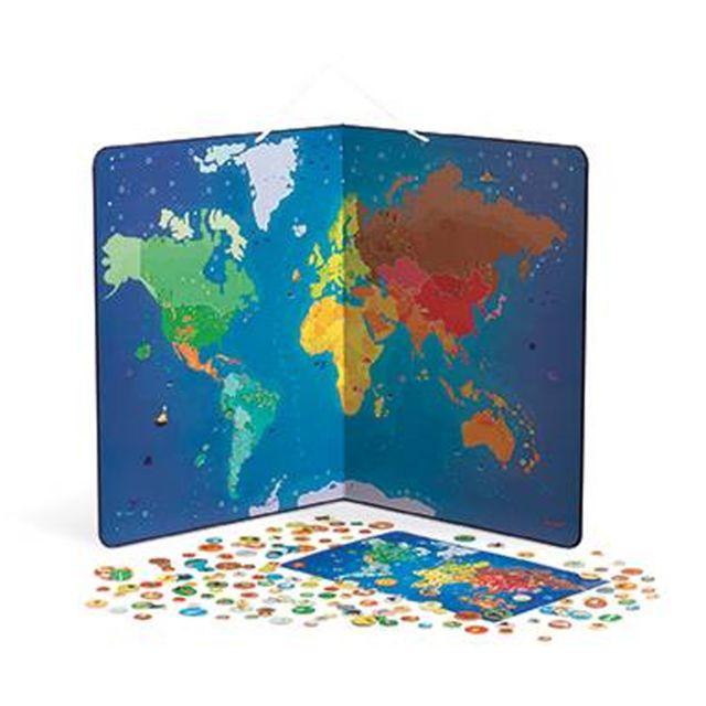 Carte Europe Janod.Janod Carte Du Monde Magnetique Animaux Pas Cher Achat Vente