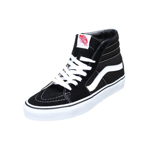 Cher Vd5ib8c Black Vente White Noir Sk8 Vans Achat Hi Pas 6gbyYIf7v