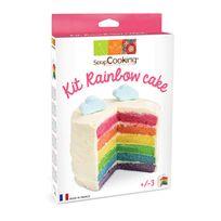 Scrapcooking - Kit Rainbow Cake