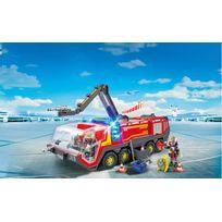 Pompiers avec véhicule aéroportuaire - 5337
