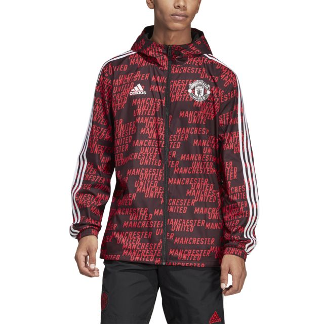 Adidas Coupe vent Manchester United 201819 pas cher