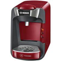 Bosch - Cafetière à dosettes - 1 tasse - Rouge
