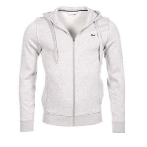 lacoste homme sweatshirt sh7609 gris clair xxl pas cher achat vente sweat homme. Black Bedroom Furniture Sets. Home Design Ideas