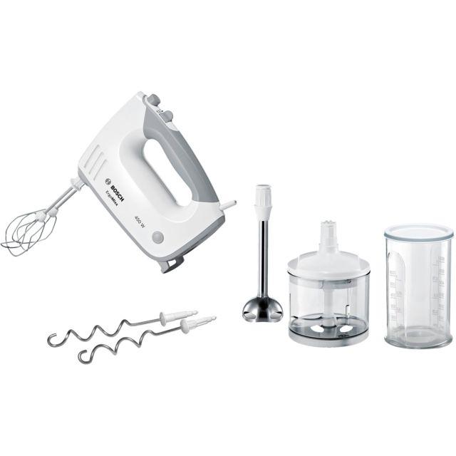 Bosch batteur multifonctions 450w blanc - mfq36480
